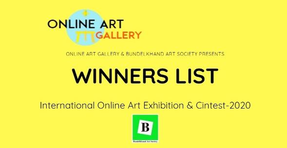 Winners Of Online Art Exhibition & Contest-2020