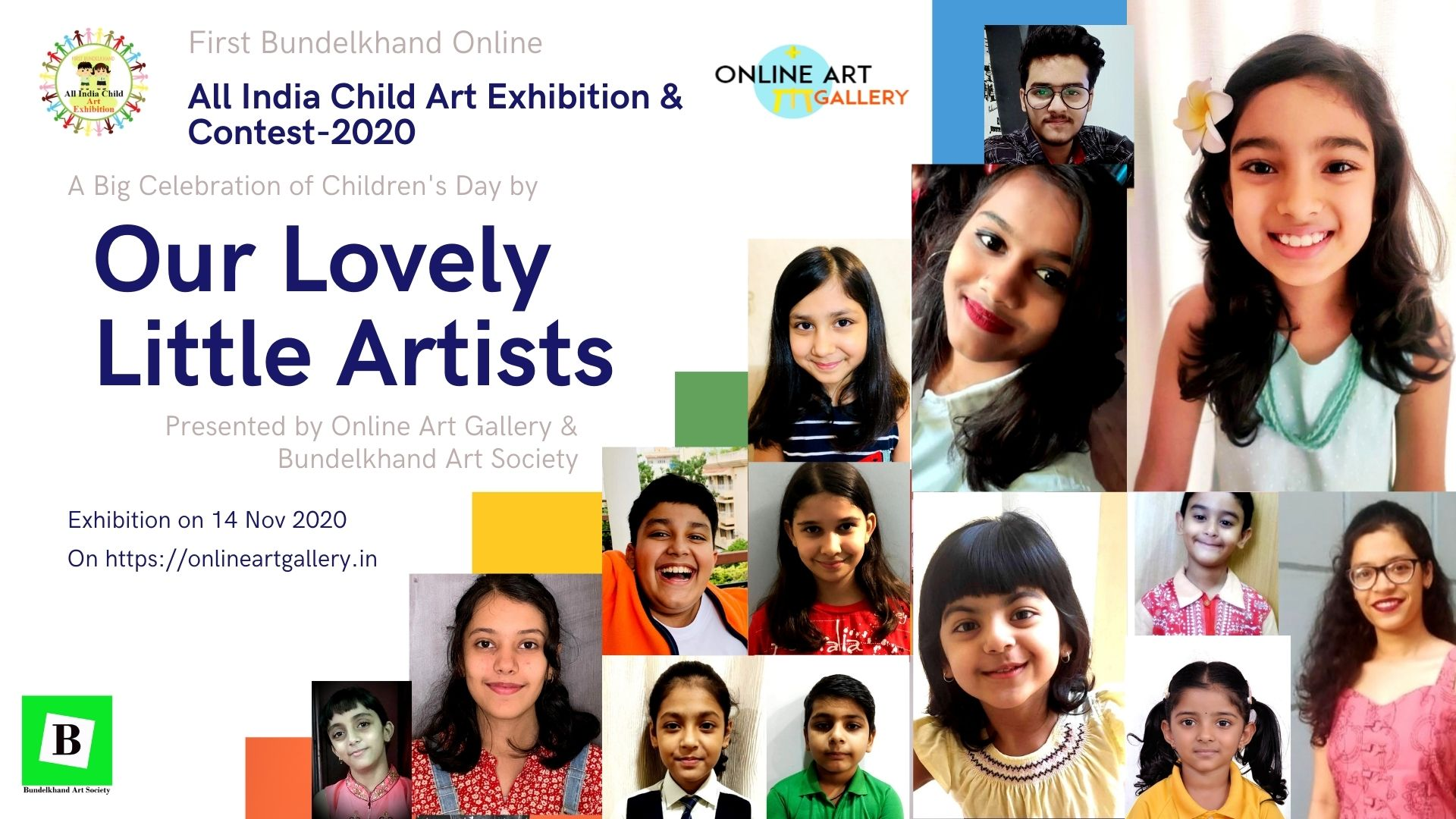 All India Child Art Exhibition on Online Art Gallery