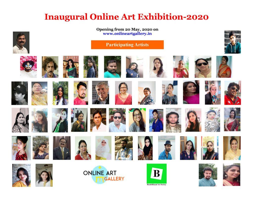 International Online Members' Art Exhibition_Participating Artists